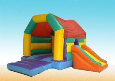 15x15 Slide & Bounce Castle Hire